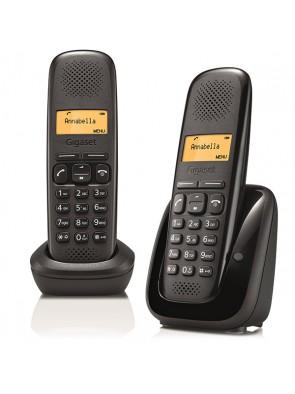 GIGASET A 170 DUO BLACK - 2 Telefoni Dect con...
