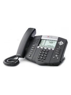 Polycom SoundPoint IP 650 6-line IP phone with...