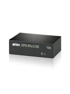 Aten 2-port VGA Splitter with Audio & RS-232
