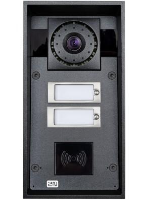 2N Helios IP Force - 2 tasti & HD camera (card...
