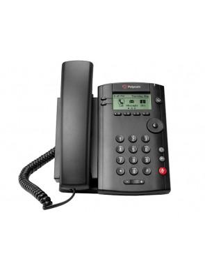 Polycom VVX101 1-line Desktop Phone with single...