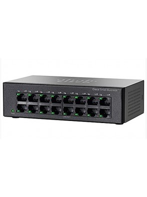 Cisco SMB SF110D-16 16-Port 10/100 Desktop Switch