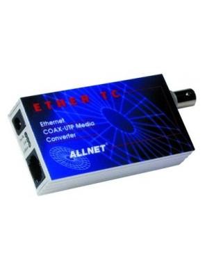 ALL0500 Mediaconverter,10BaseT/10Base2-BNCTC...