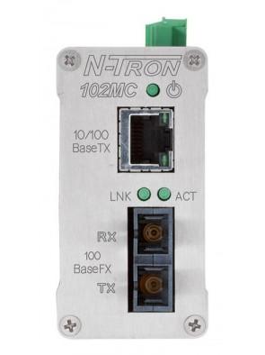 Red Lion N-Tron 102MCE-SC-15 media converter...