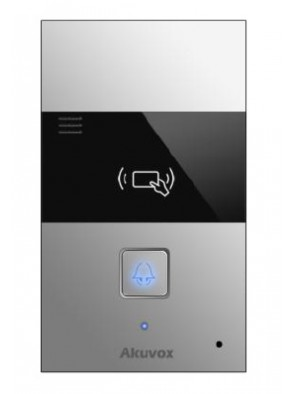 Akuvox - R23C Doorphone SIP, 1 Tasto, 2 Relay,...