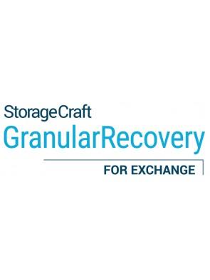 StorageCraft - Granular recovery Exchange -...