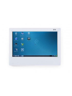 """FriendlyELEC 7"""" inch LCD touch resistivo (S70)"""