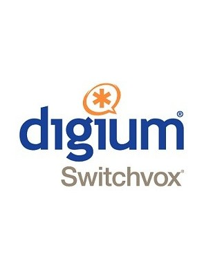 Digium 25 Switchvox Silver to Platinum...