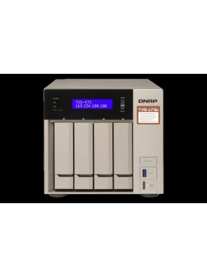 QNAP NAS TVS-473e-4G, 4 Bay...