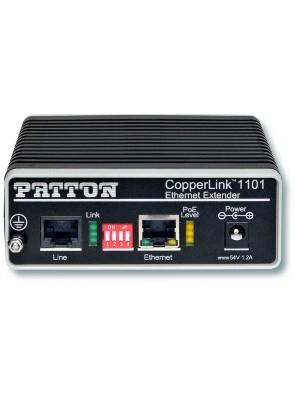 Patton - CopperLink PoE Remote Extender- 1x...